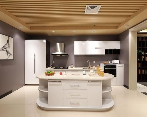 美凯龙简约整体厨房空间