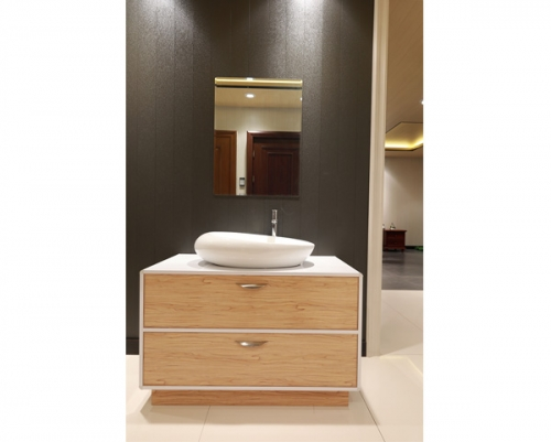 美凯龙卫浴柜木纹