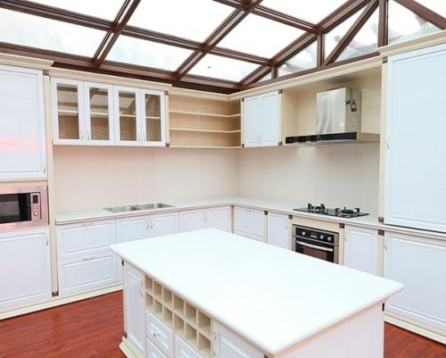 阳光房内整体厨房