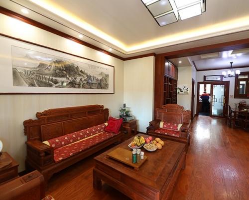 碧桂园一楼客厅全装