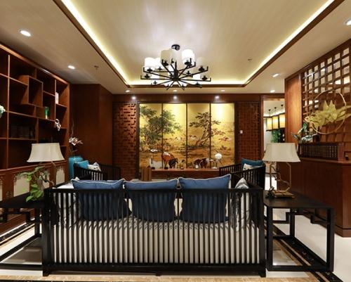 美凯龙中式客厅