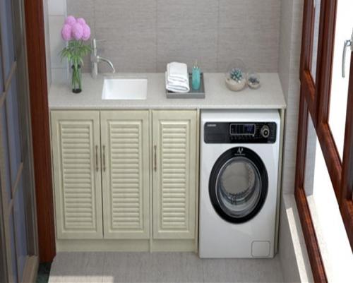 全铝洗衣机柜